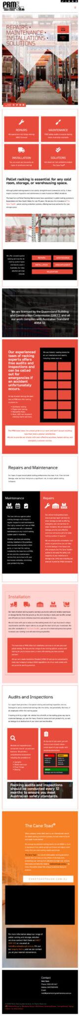 Pallet Racking Maintenance: Mobile View