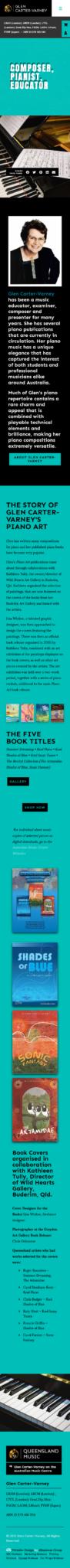 Glen Carter- Varney: Mobile View