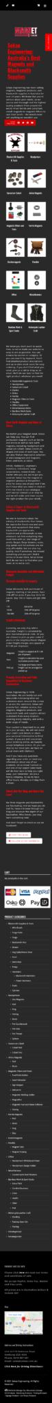 Sekao Engineering: Mobile View